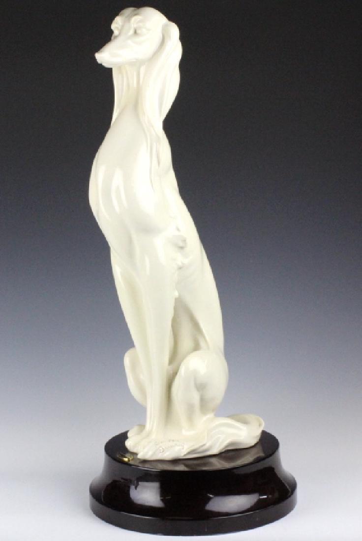 "Giuseppe Armani Saluki Hound Dog 2071L Statue 23"" - 2"