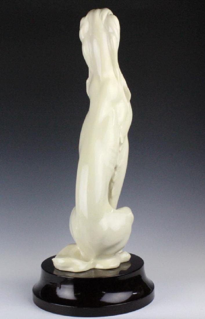 "Giuseppe Armani Saluki Hound Dog 2071L Statue 23"" - 7"