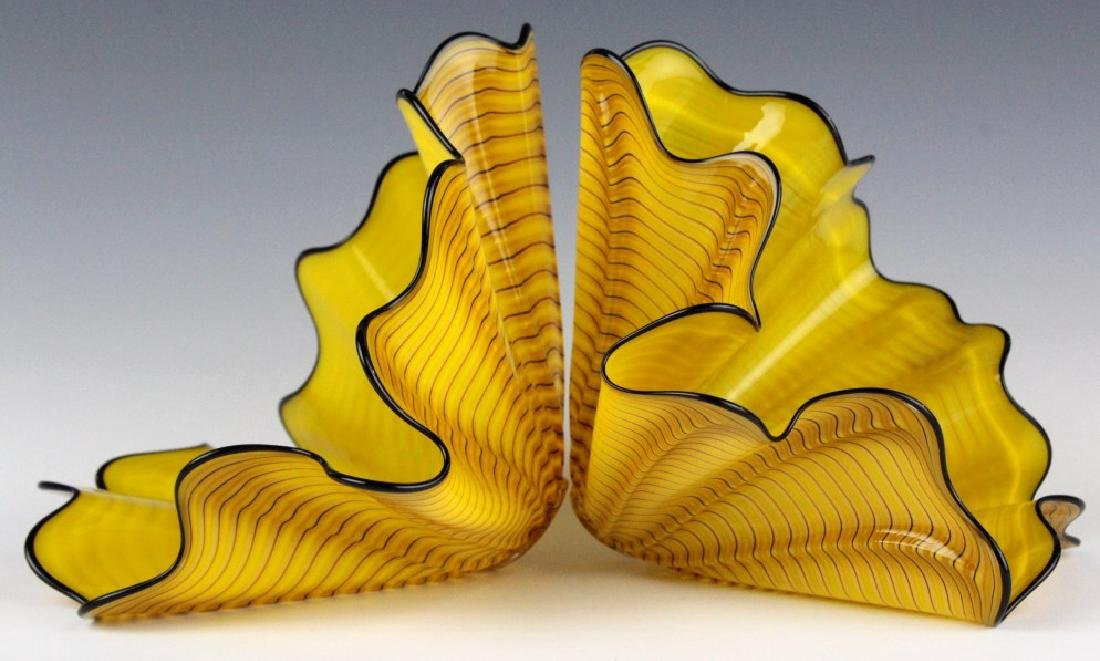 Dale Chihuly Radiant Persian Pair 2p Art Sculpture - 4