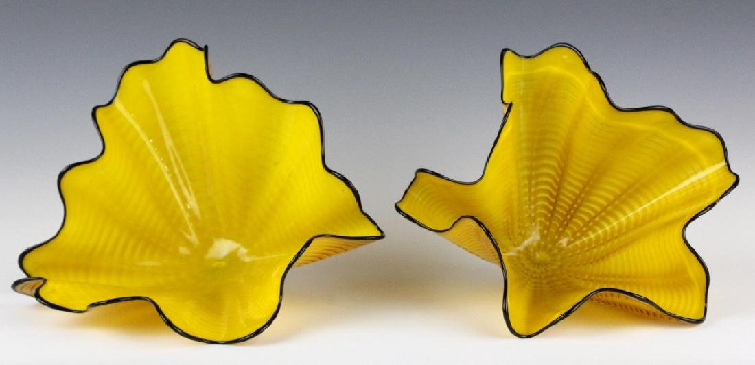 Dale Chihuly Radiant Persian Pair 2p Art Sculpture - 5