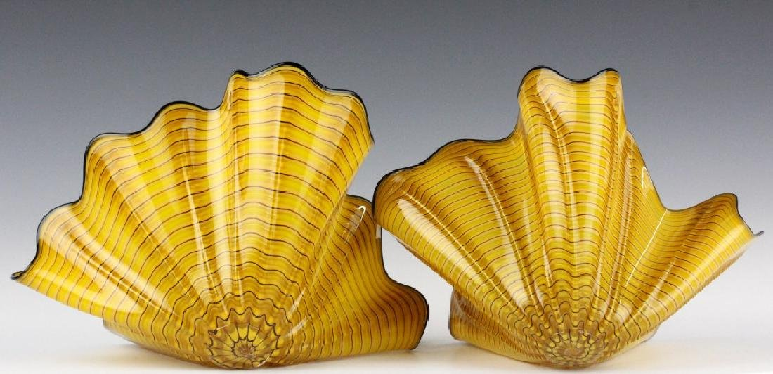 Dale Chihuly Radiant Persian Pair 2p Art Sculpture - 7