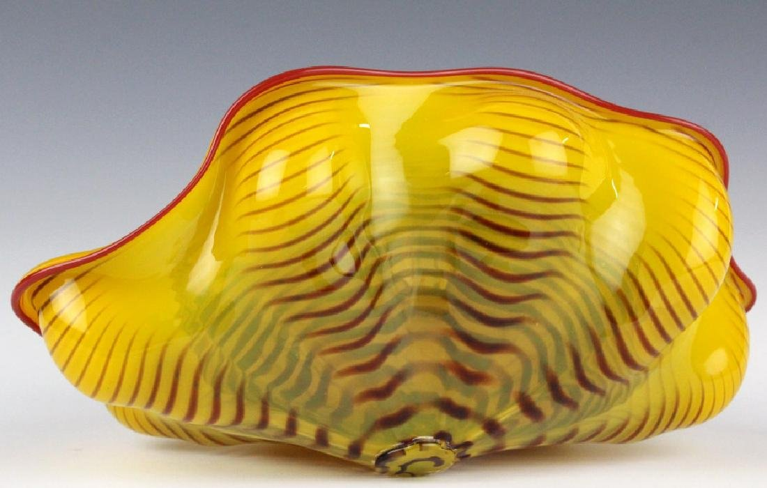 Dale Chihuly 3pc Seaform Art Glass Sculptures RARE - 5