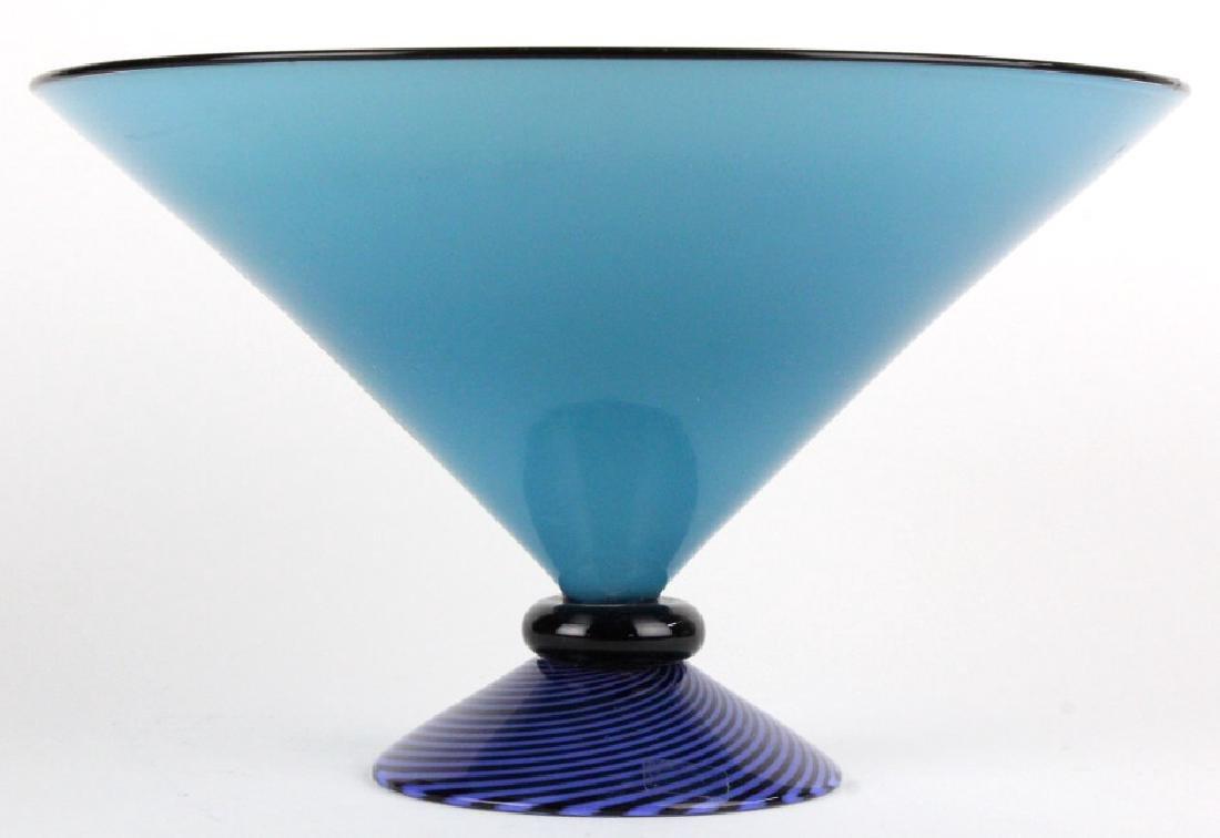 Lino Tagliapietra Effetre Murano Art Glass Bowl
