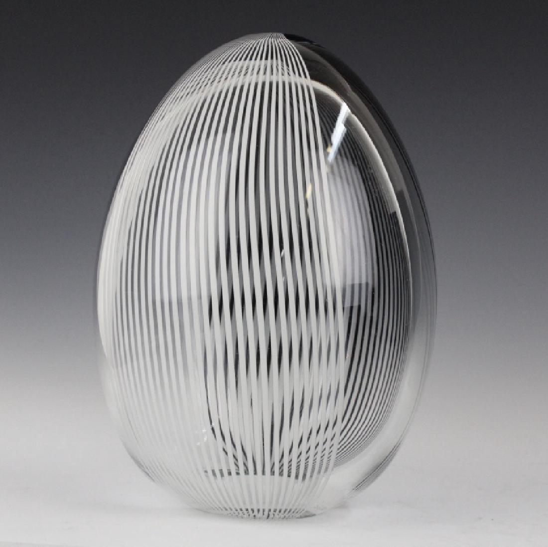 Lino Tagliapietra Murano Art Glass L/E Oggetti Egg