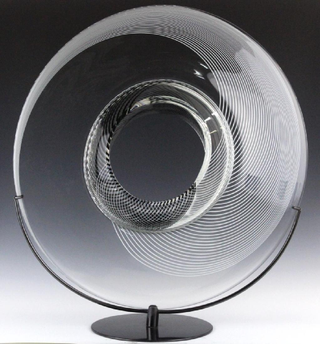 Lino Tagliapietra Saturno Art Glass L/E Sculpture