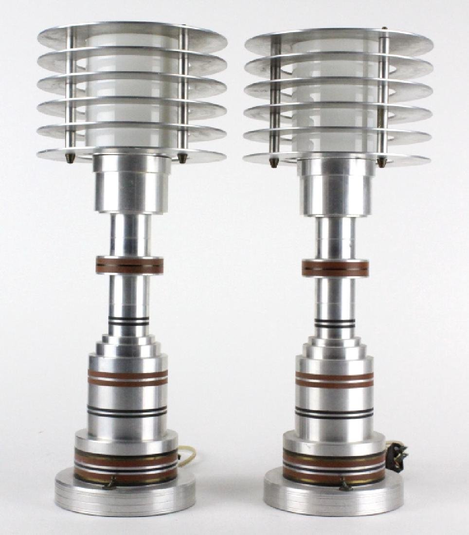 PAIR Pattyn Products Walter Von Nessen Table Lamps