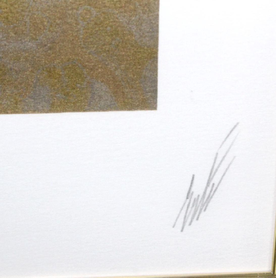 Pencil Signed ERTE Three Graces Serigraph LE Print - 3