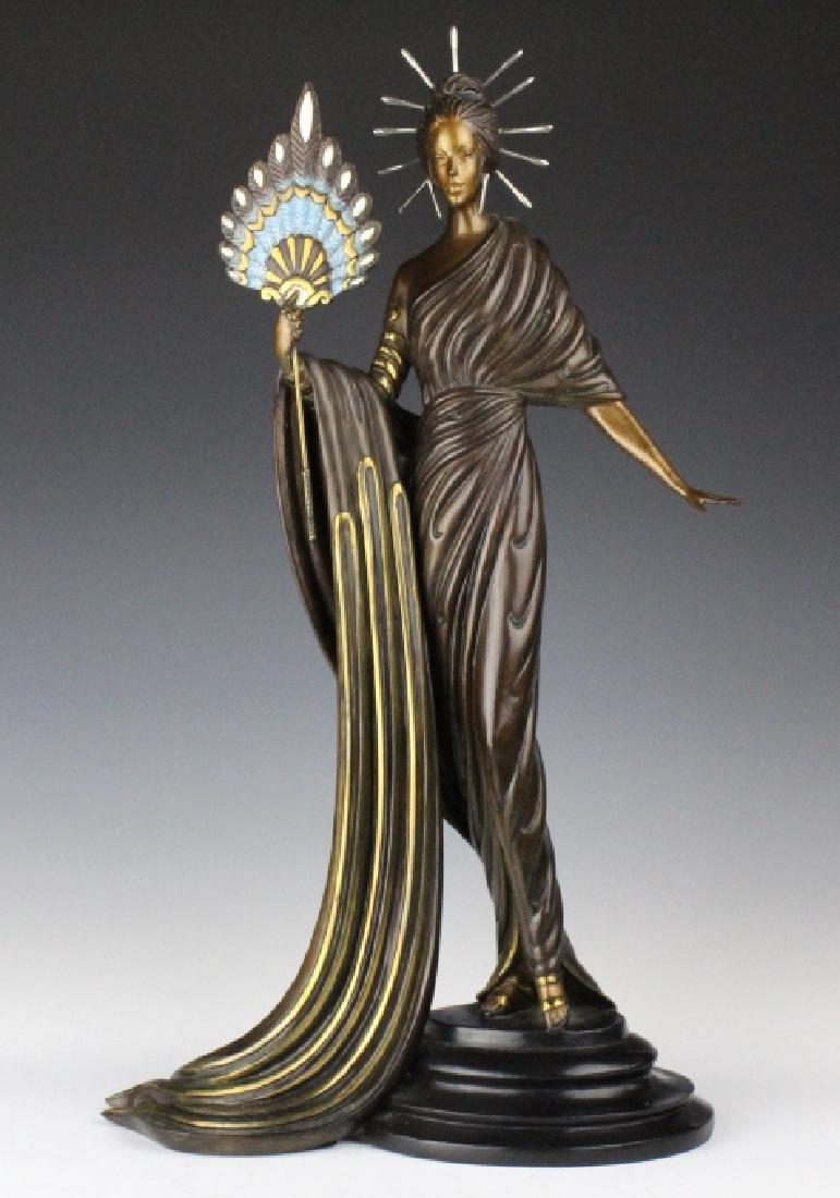 ERTE Bronze Aphrodite Limited Ed. Sculpture 1986