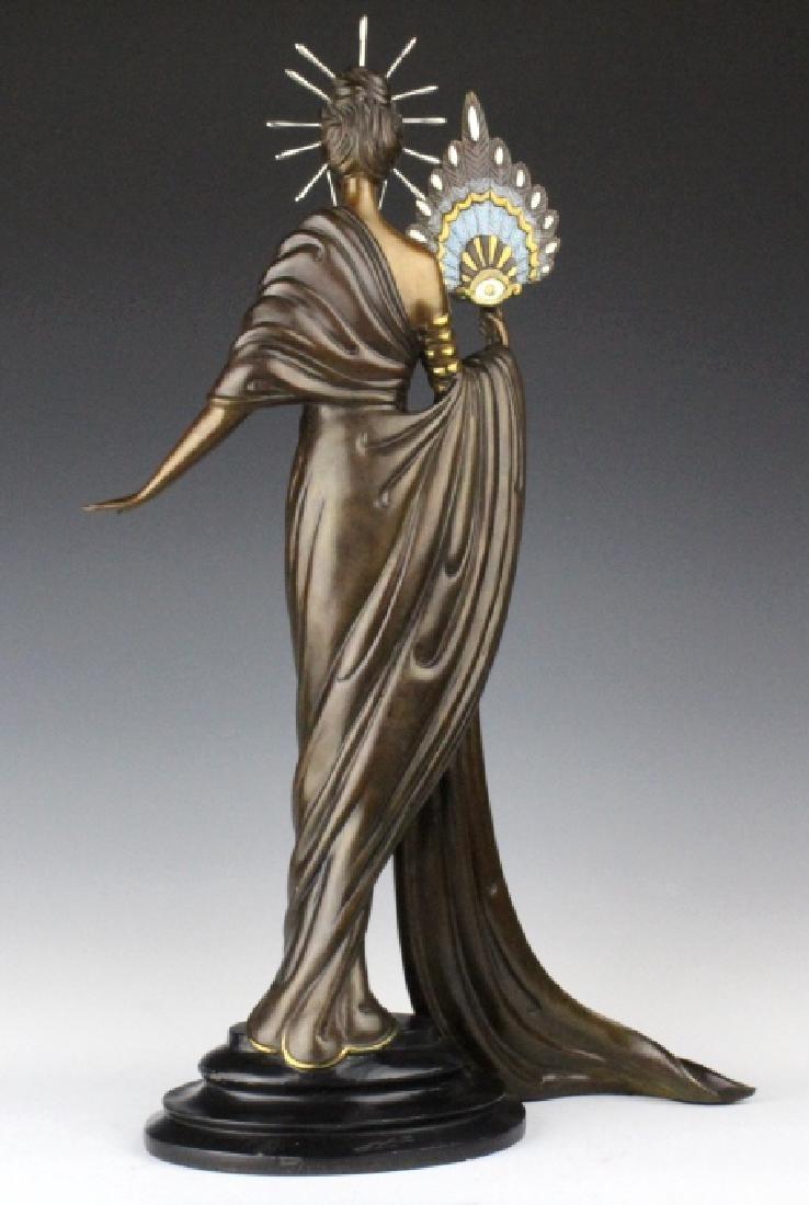 ERTE Bronze Aphrodite Limited Ed. Sculpture 1986 - 5
