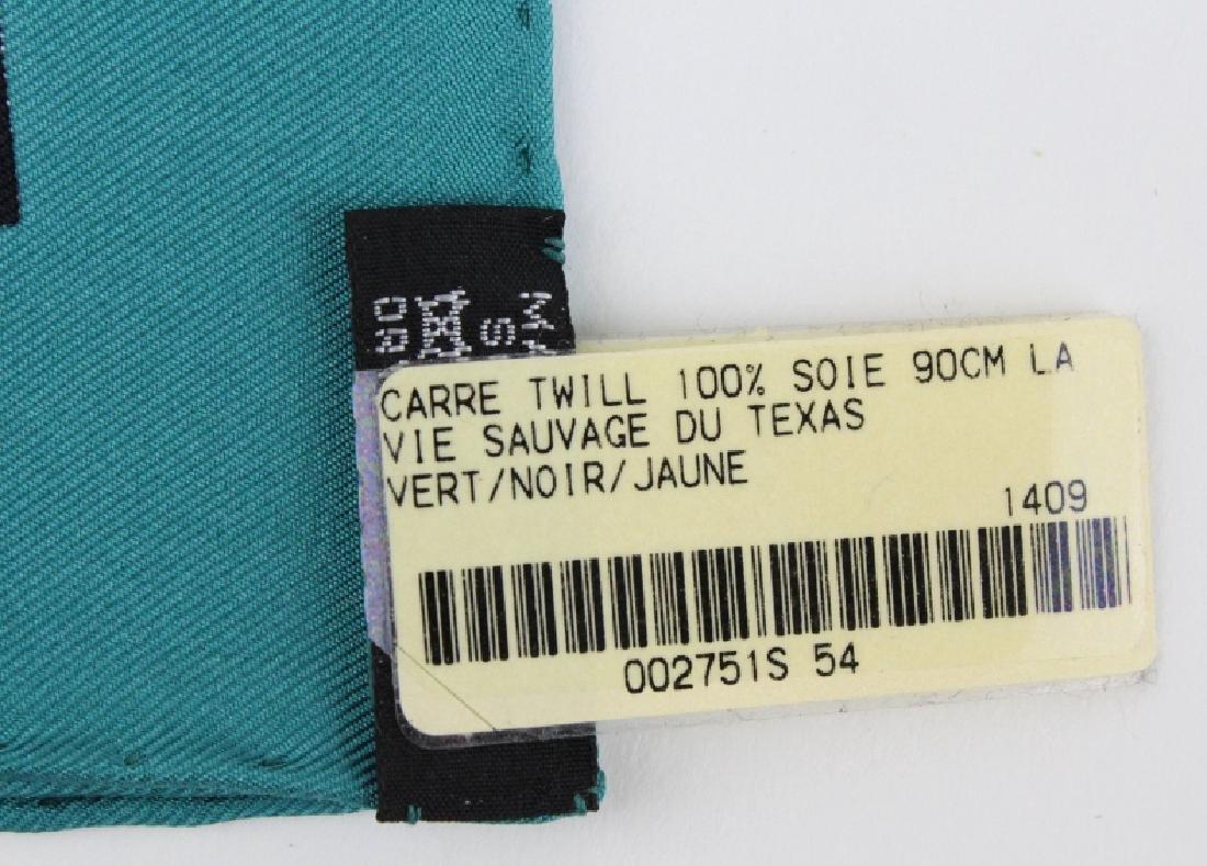 HERMES La Vie Sauvage du Texas Silk Scarf 36x36 - 4