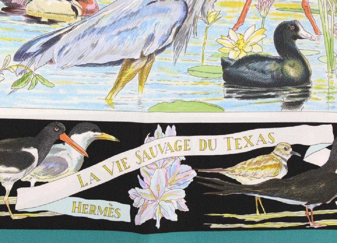 HERMES La Vie Sauvage du Texas Silk Scarf 36x36 - 6