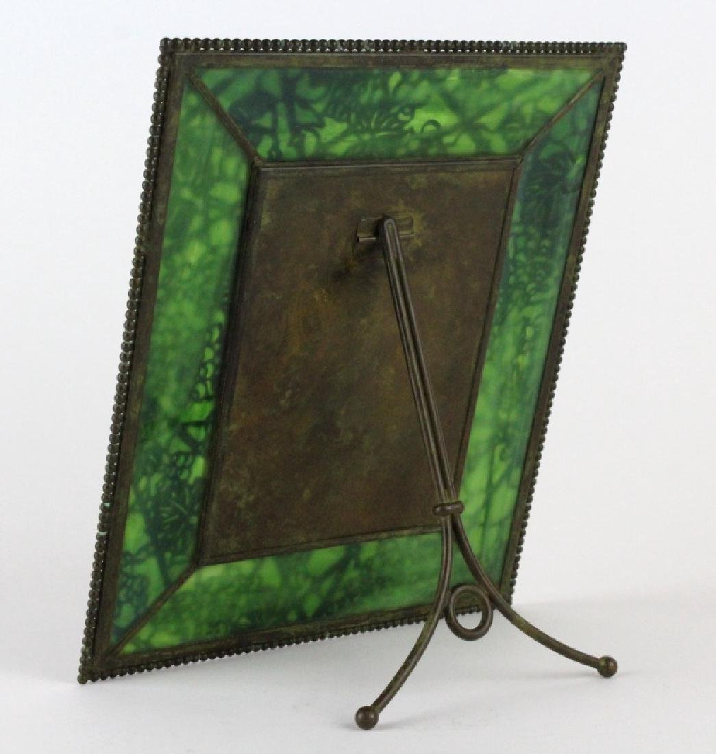 Tiffany Studios Grapevine Glass Picture Frame - 5