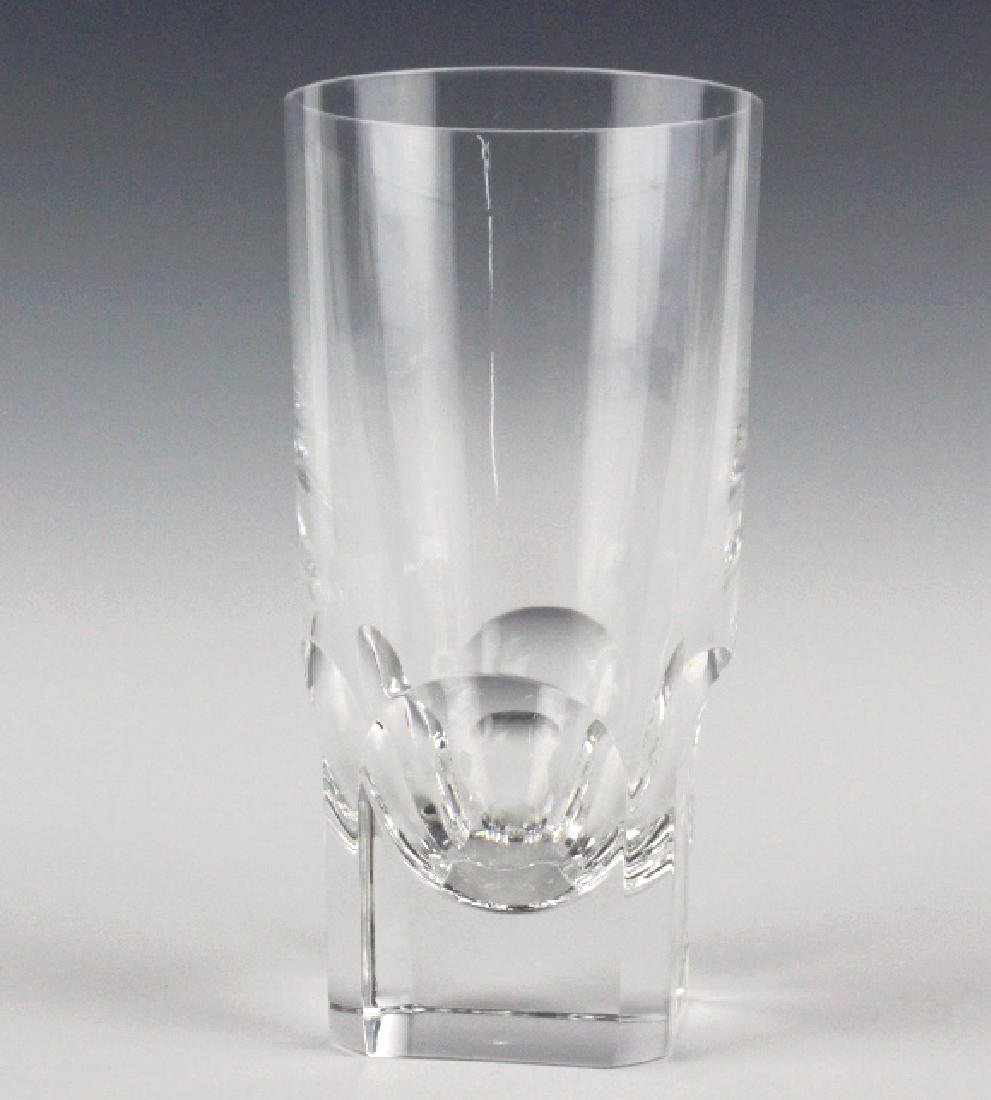 5 BACCARAT Art Crystal Pluton Highball Glasses SET - 5