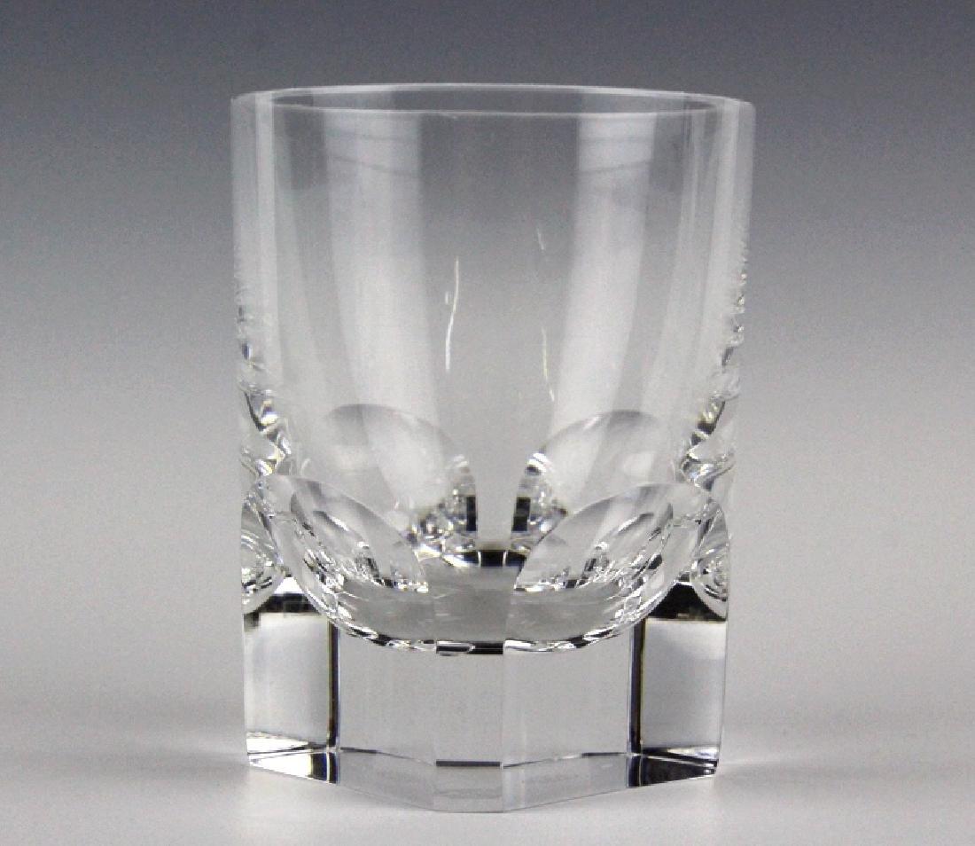 8 BACCARAT Crystal Pluton Old Fashoned Glasses SET - 2