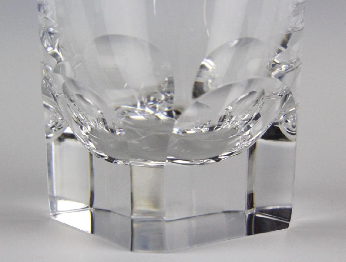 8 BACCARAT Crystal Pluton Old Fashoned Glasses SET - 3