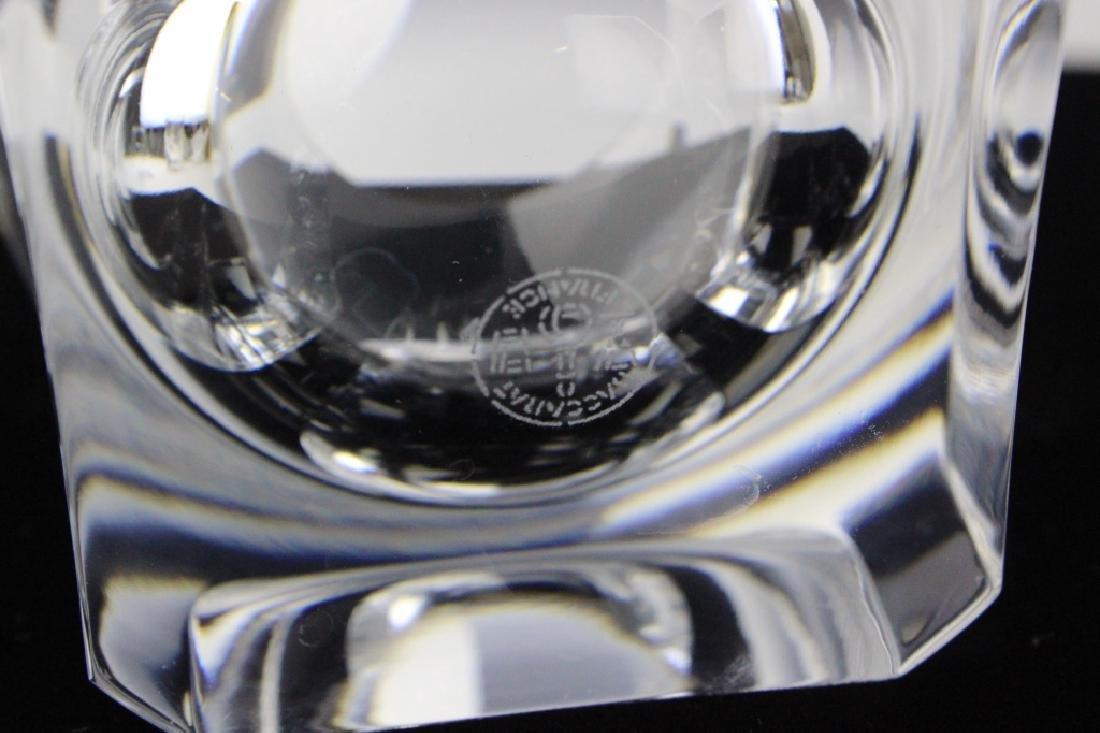 8 BACCARAT Crystal Pluton Old Fashoned Glasses SET - 6
