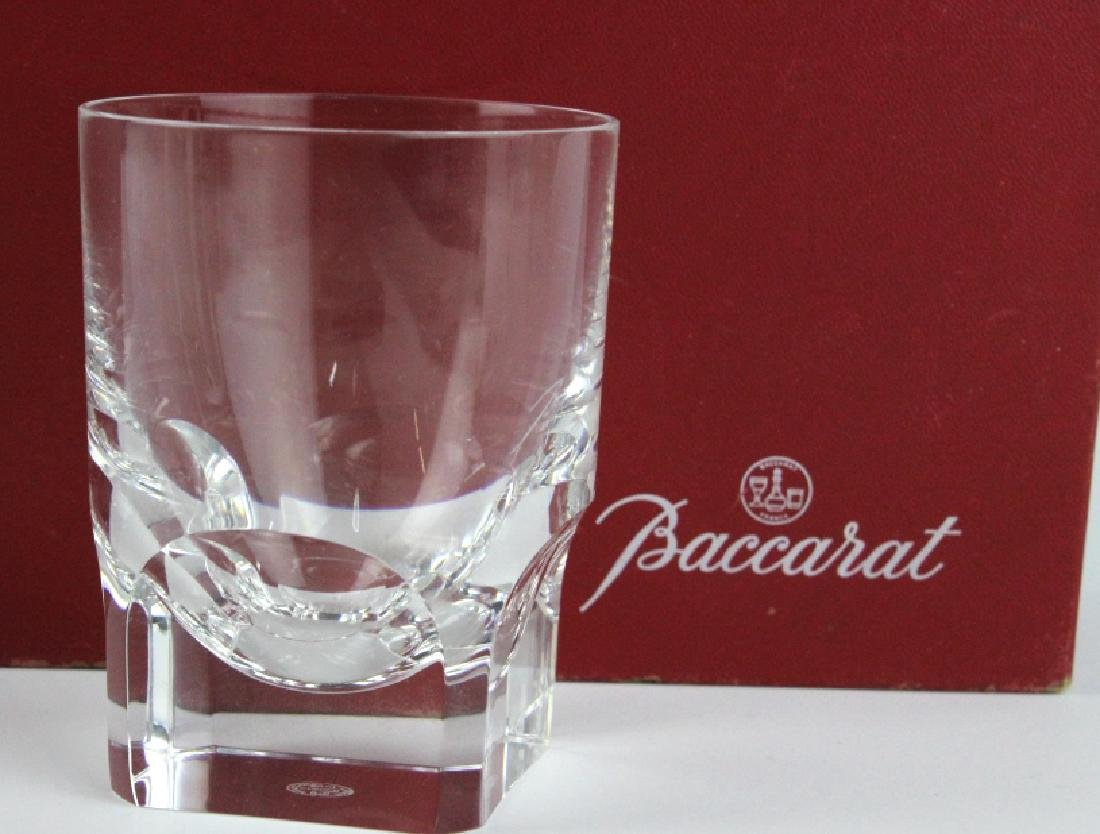 8 BACCARAT Crystal Pluton Old Fashoned Glasses SET - 7