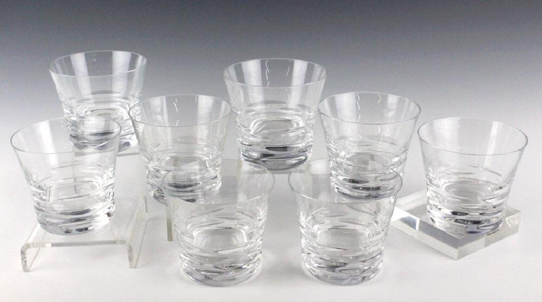 8 BACCARAT French Crystal Lola Tumbler Glasses SET