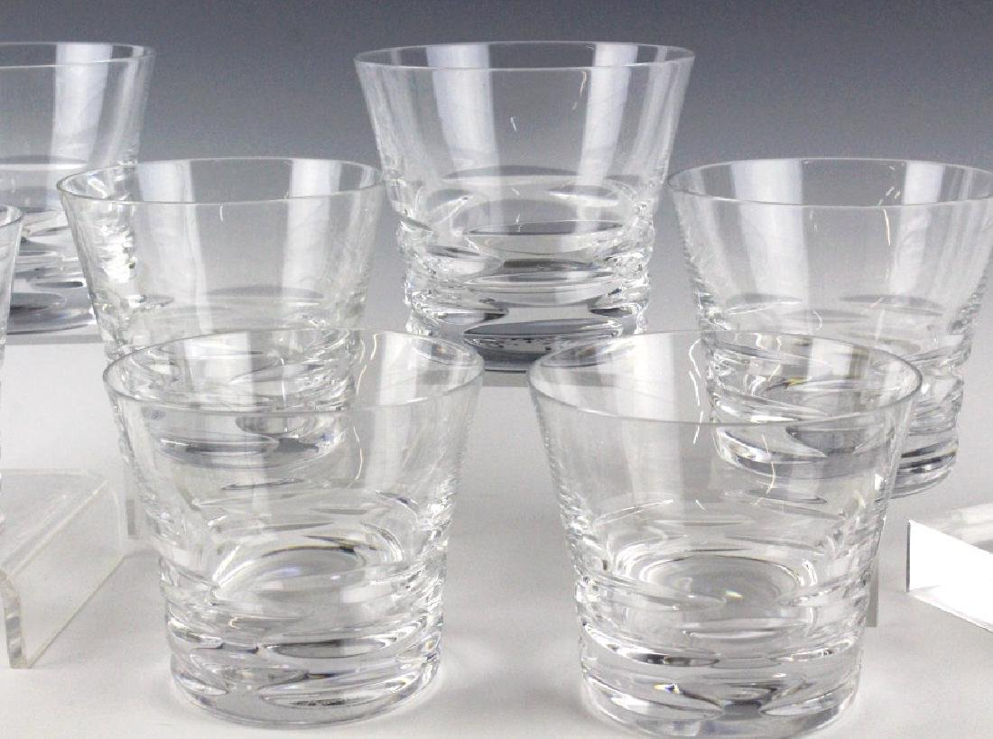 8 BACCARAT French Crystal Lola Tumbler Glasses SET - 2