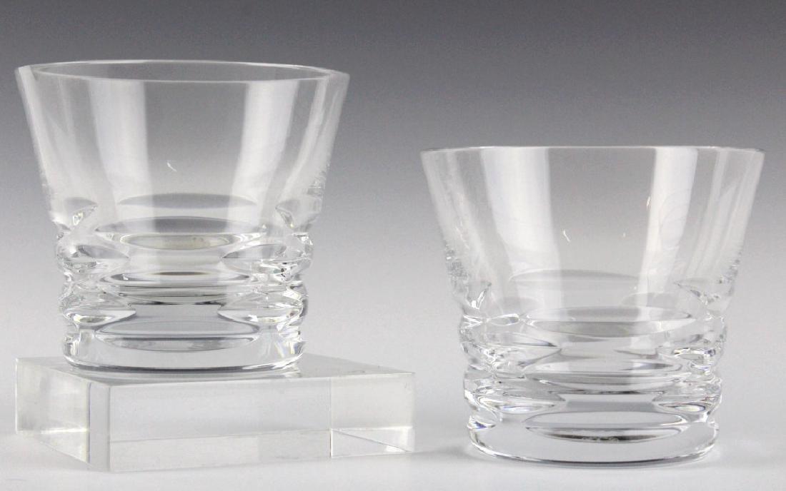 8 BACCARAT French Crystal Lola Tumbler Glasses SET - 4