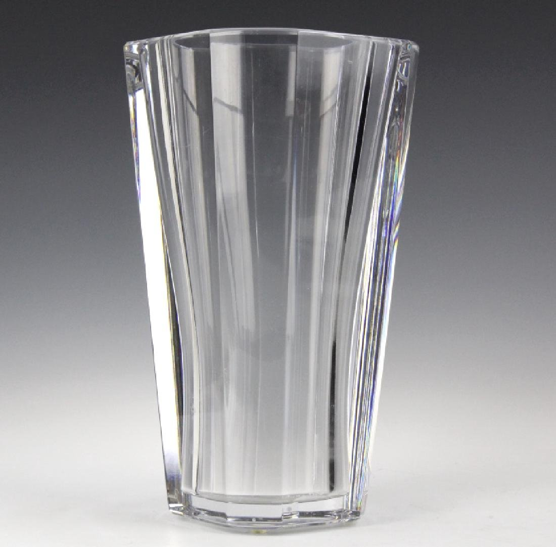"BACCARAT French Art Glass Crystal 10"" Diane Vase"