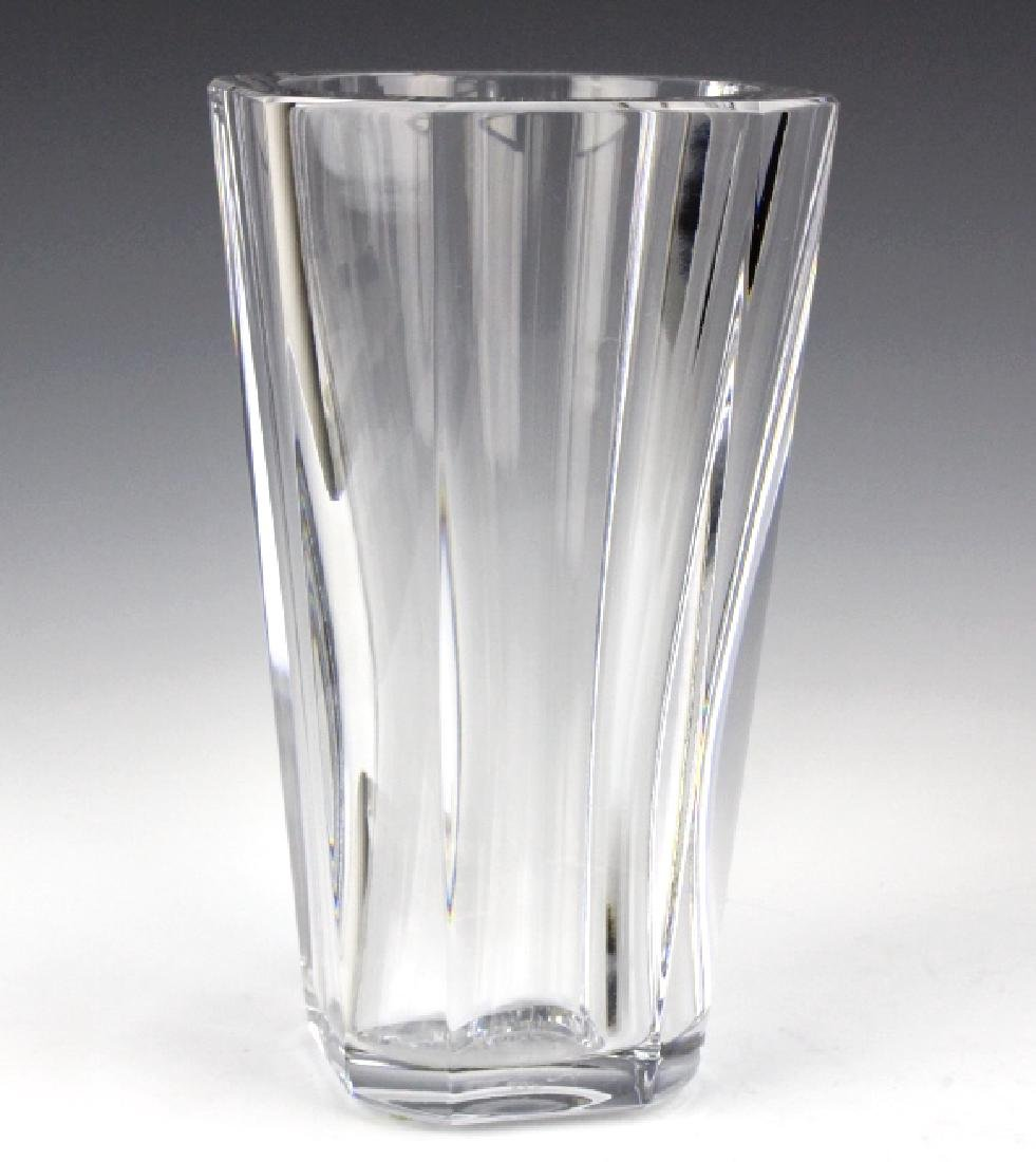 "BACCARAT French Art Glass Crystal 10"" Diane Vase - 6"