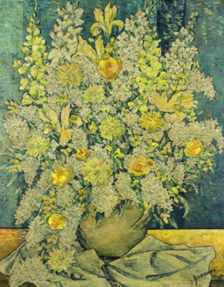 STRASSNER Impressionist Floral Still Life Painting - 2