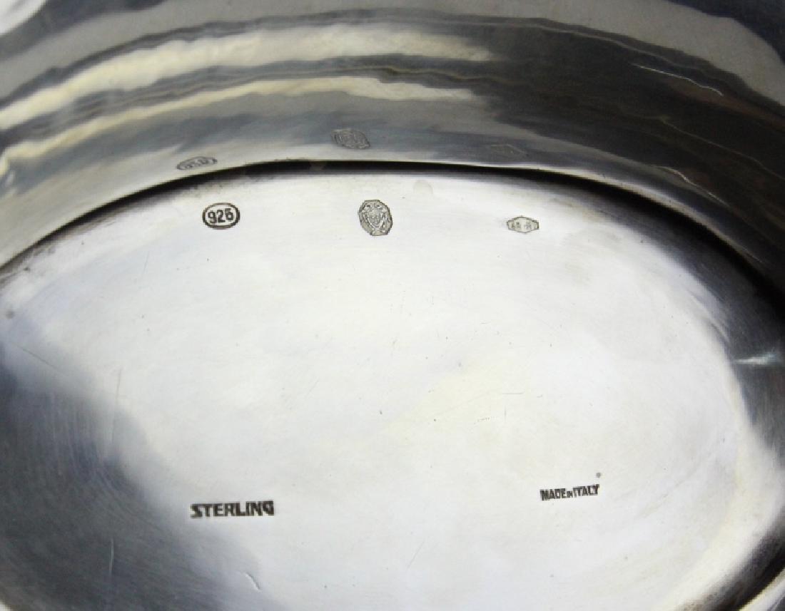 Arno Fassi Sterling Silver Rams Head Centerpiece - 10