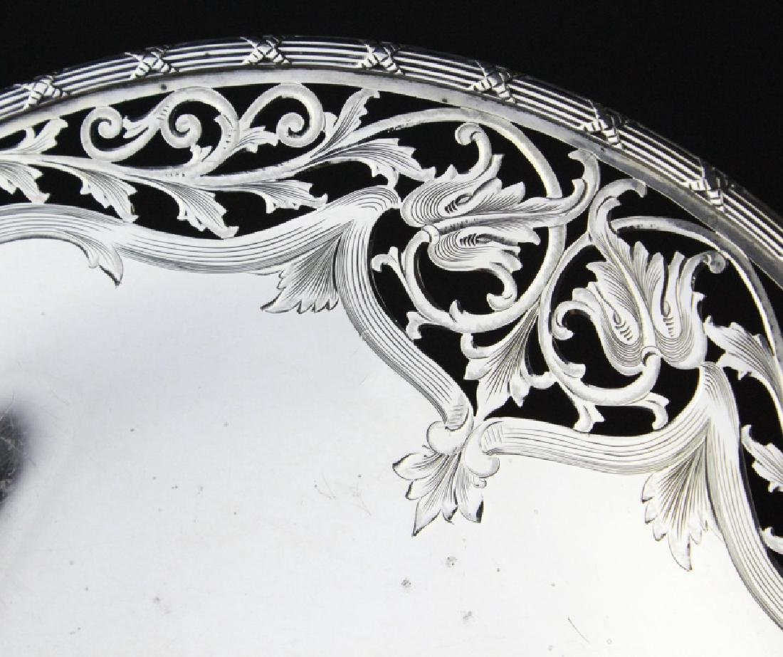 Chester Billings Sterling Silver Footed Platter - 4