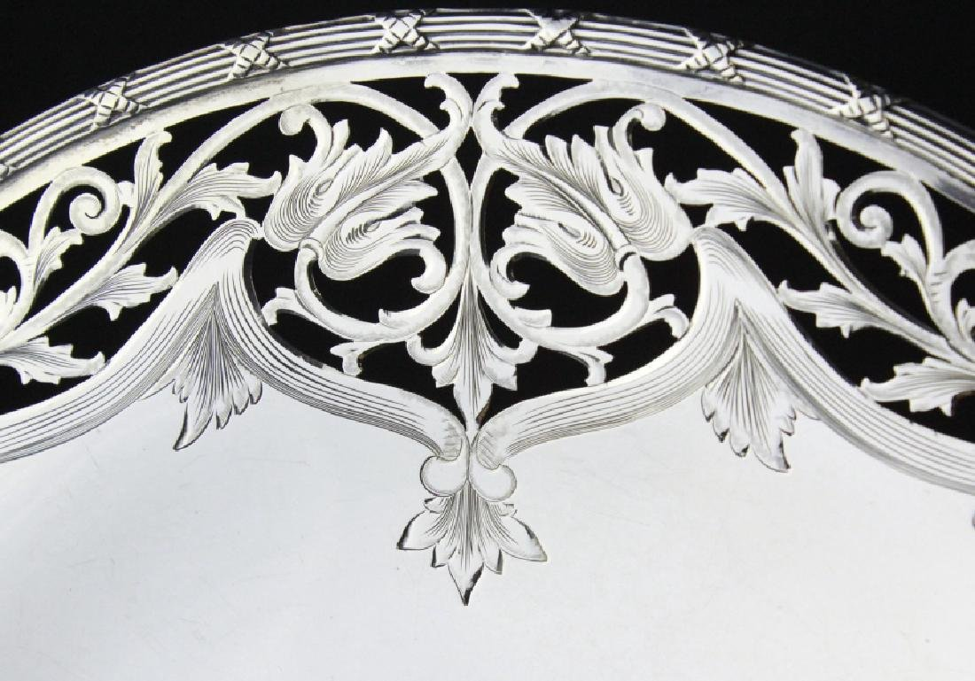 Chester Billings Sterling Silver Footed Platter - 5