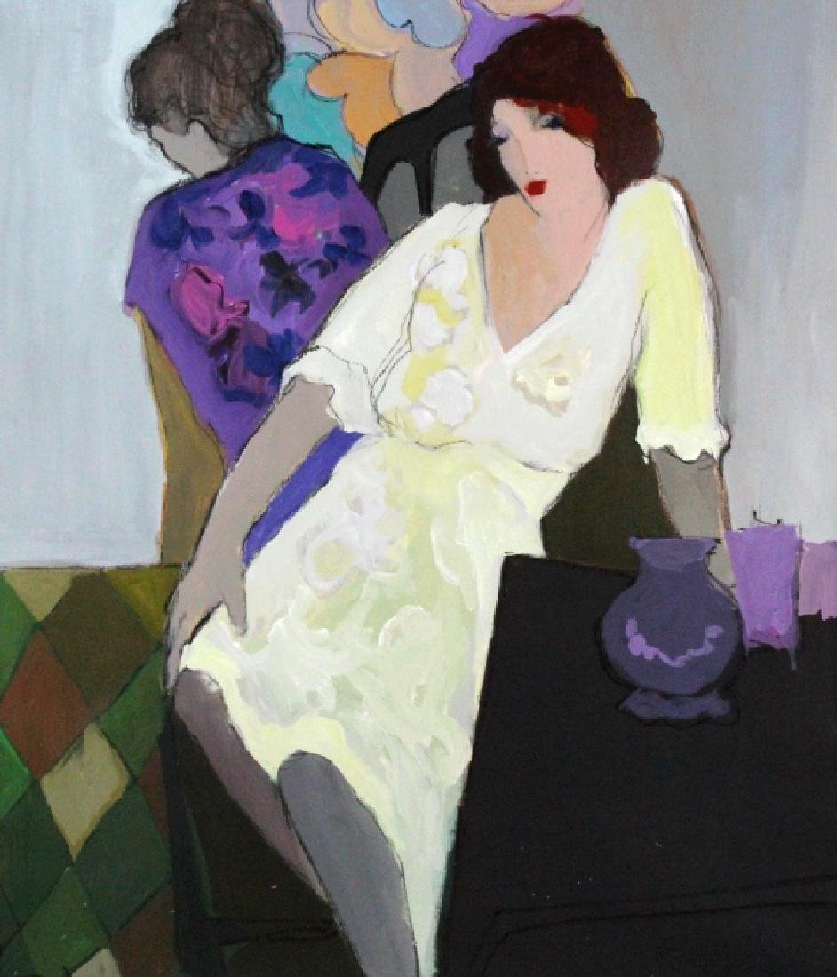 "Itzchak Isaac Tarkay 40""x32"" Original Oil Painting"