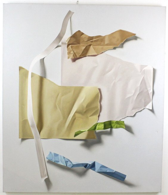 Yrjo Edelmann Modernist Oil On Canvas Painting