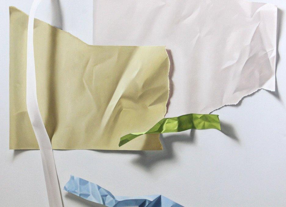Yrjo Edelmann Modernist Oil On Canvas Painting - 4