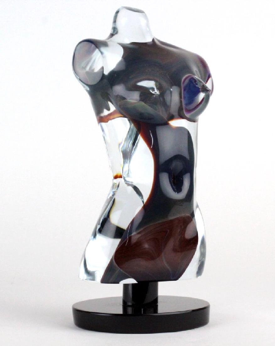 Dino Rosin Murano Glass Aphrodite Sculpture