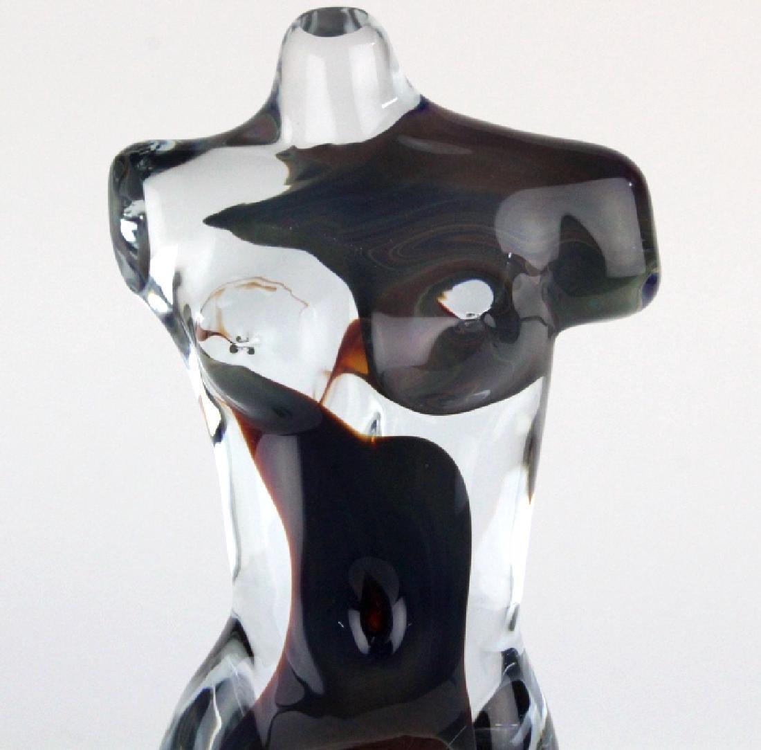 Dino Rosin Murano Glass Aphrodite Sculpture - 3