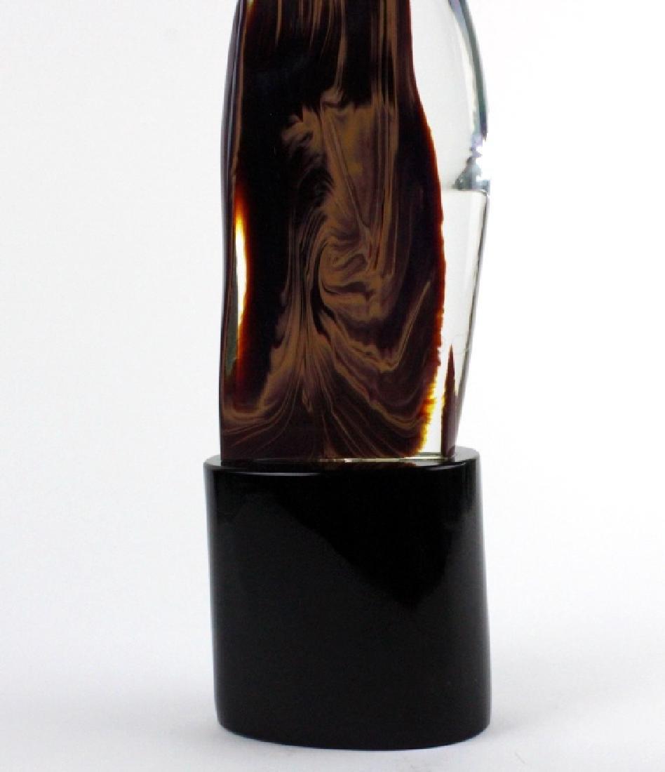Signed Dino Rosin Calcedonio Art Glass Sculpture - 6