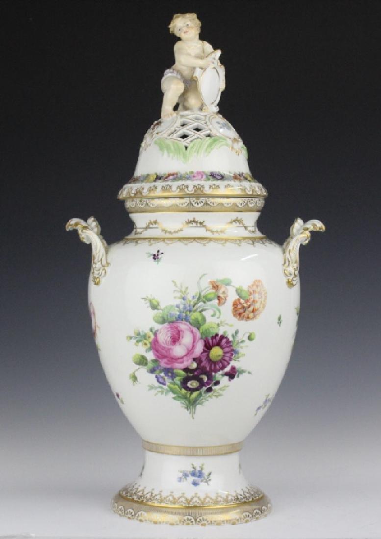 Royal Copenhagen Juliane Marie Porcelian Urn Vase