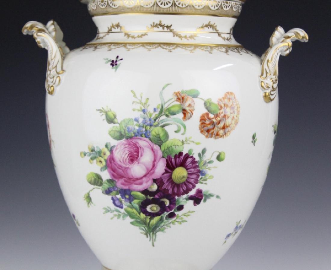 Royal Copenhagen Juliane Marie Porcelian Urn Vase - 3