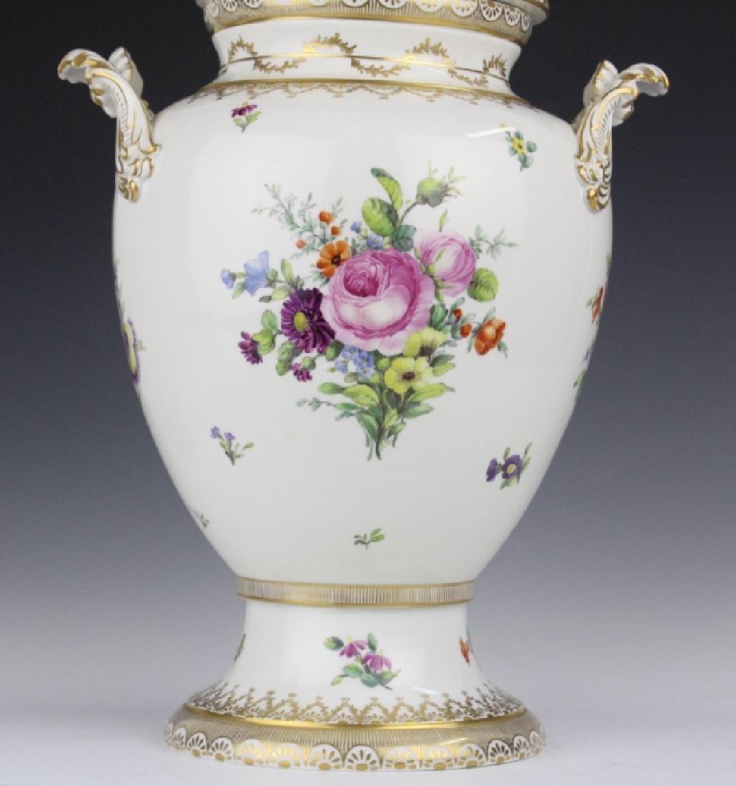 Royal Copenhagen Juliane Marie Porcelian Urn Vase - 7