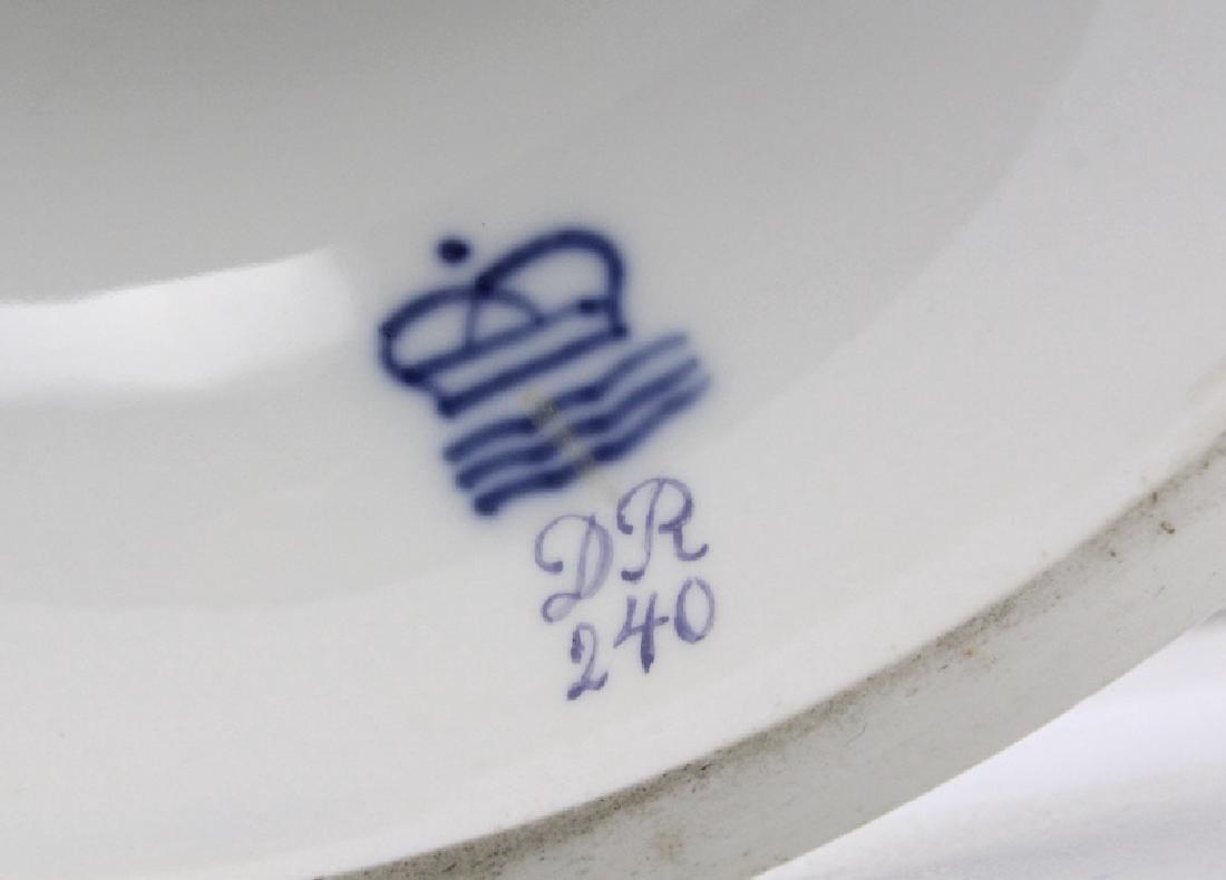 Elaborate Royal Copenhagen Juliane Marie Urn Vase - 10