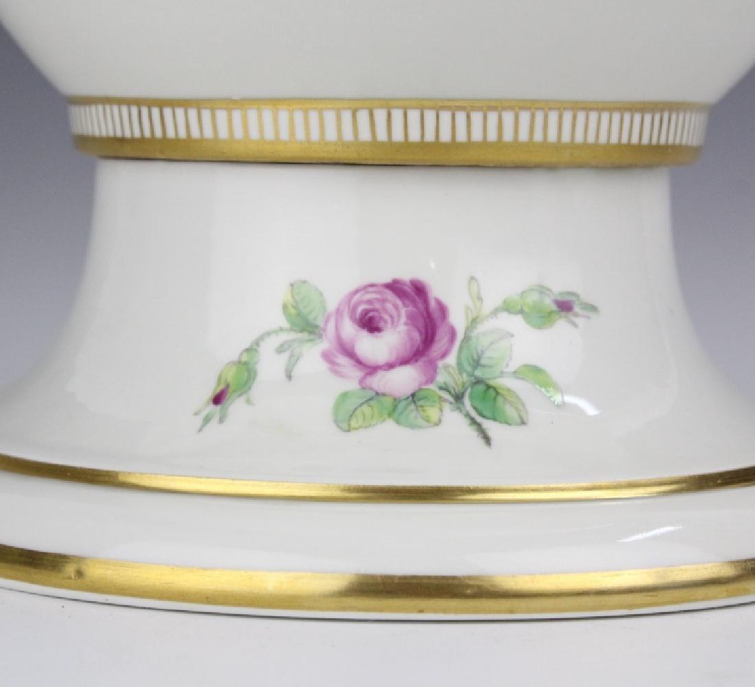 Elaborate Royal Copenhagen Juliane Marie Urn Vase - 5
