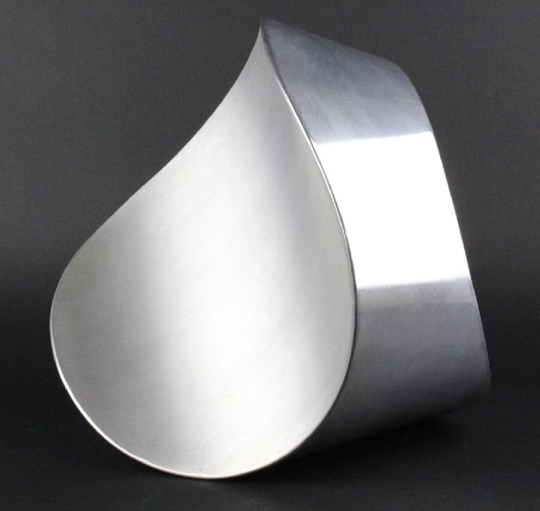 PAUL SISKO Melting Form Abstract Metal Sculpture