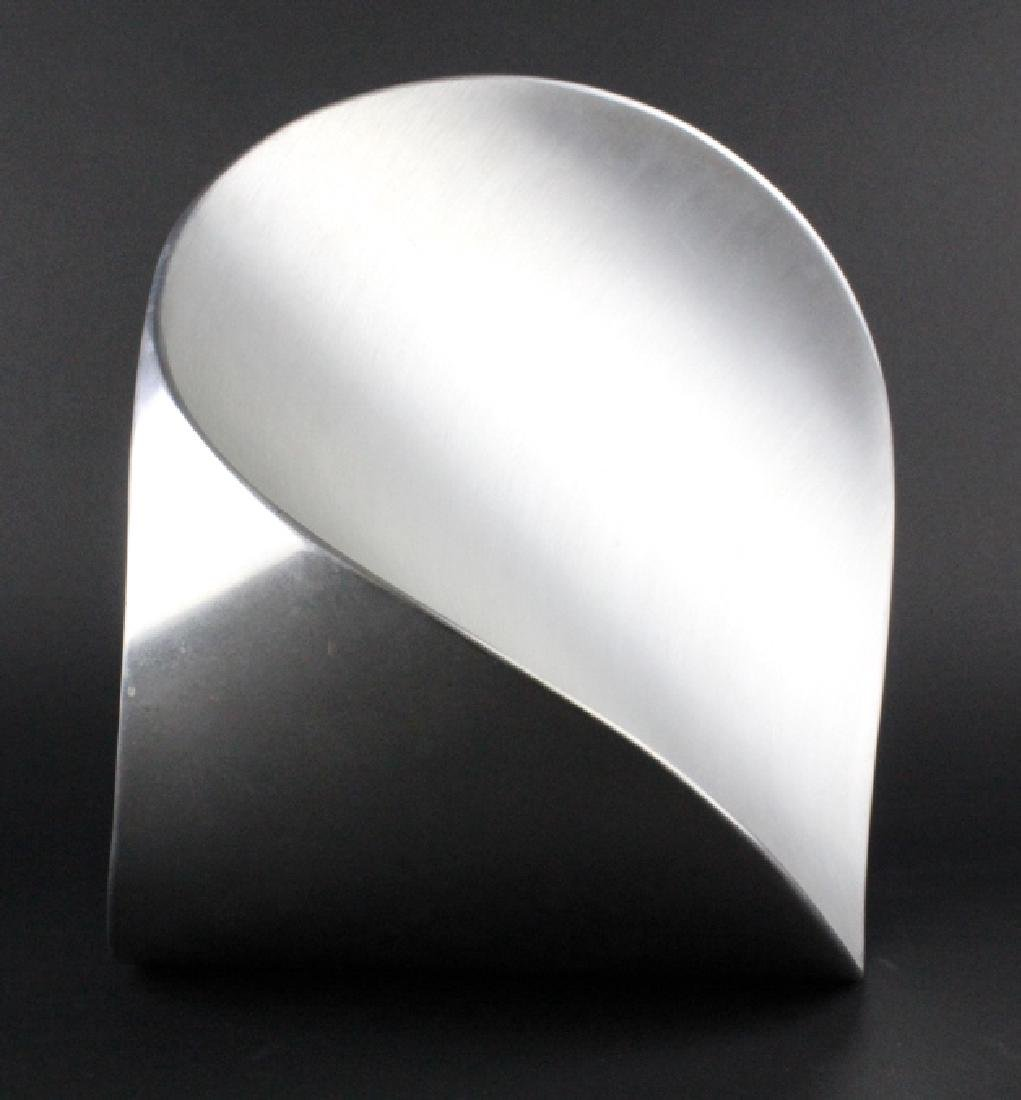 PAUL SISKO Melting Form Abstract Metal Sculpture - 2