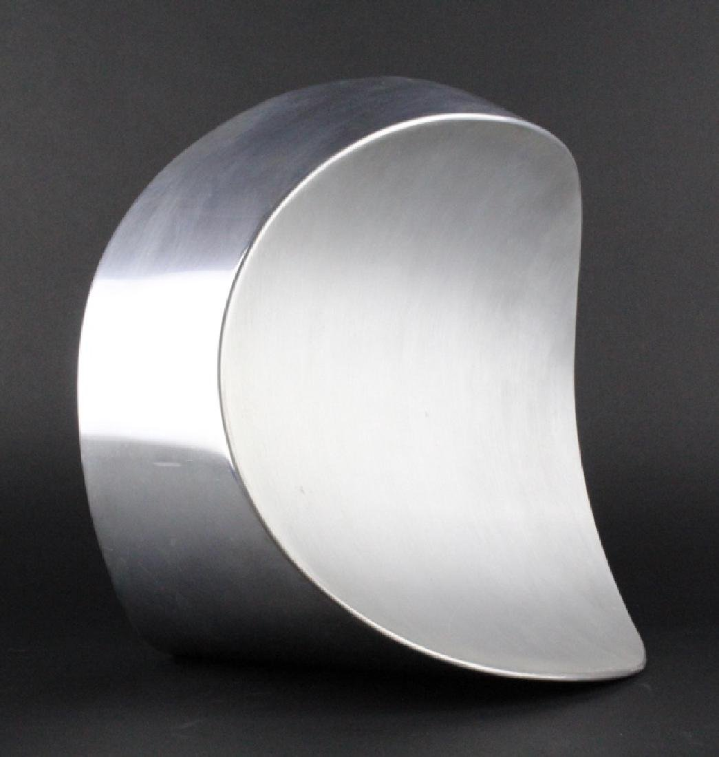 PAUL SISKO Melting Form Abstract Metal Sculpture - 6
