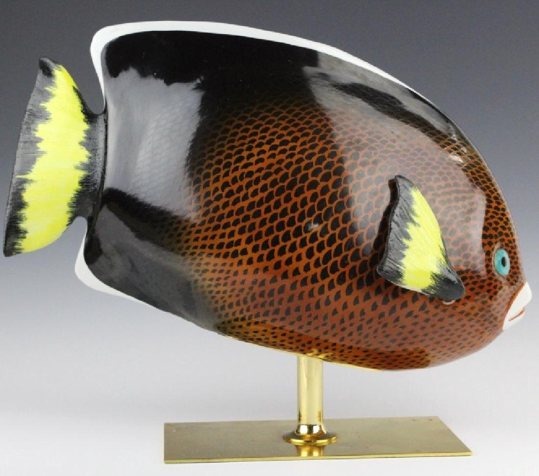Oggetti Mangani Tropical Fish Porcelain Sculpture - 5