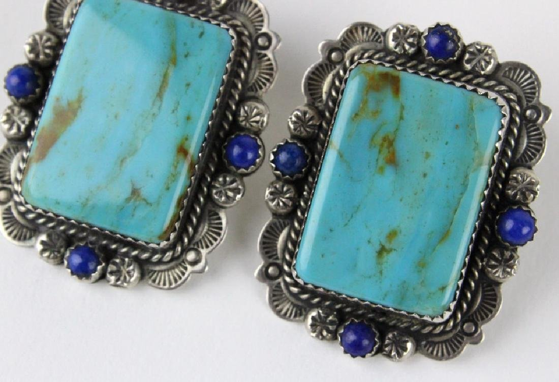 Bernyse Chavez Native American Turquoise Earrings - 2
