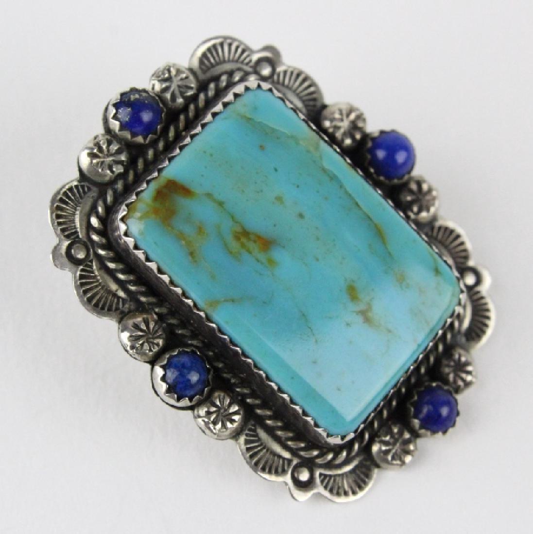 Bernyse Chavez Native American Turquoise Earrings - 4