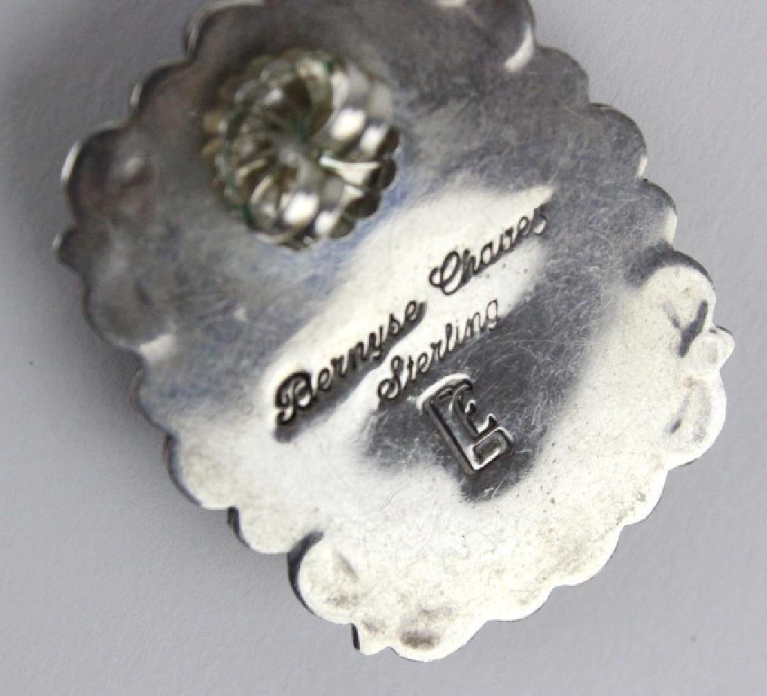 Bernyse Chavez Native American Turquoise Earrings - 5