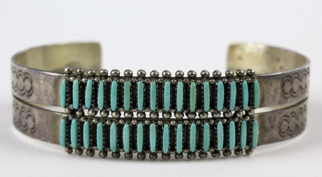 G. Acque Zuni Indian Needle Petit Point Bracelet