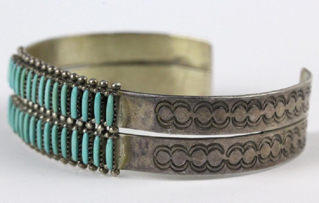 G. Acque Zuni Indian Needle Petit Point Bracelet - 2